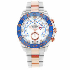 Rolex Yacht-Master II 116681 2017 New Hands Steel 18K Pink Gold Automatic Watch