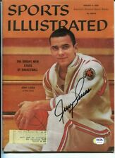Jerry Lucas Signed 1960 Sports Illustrated Autographed Royals Ohio State PSA/DNA