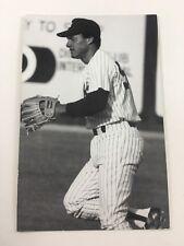 Bert Campaneris (1983) New York Yankees Vintage Baseball Postcard NYY