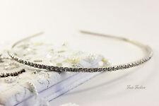Kleidung & Accessoires Haarreif Diadem Strass Metall Perlen Imitat Hochzeit Kommunion Mädchen Damen