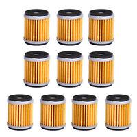 10x New Oil Filter fit for Yamaha YZ250 XT250 YFZ450 YBR250 WR250F WR450F Raptor