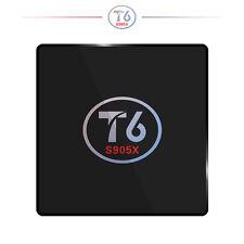 Newest T6 2GB+16GB S905X Quad Core Android 7.1 4K WiFi Smart TV Box Media Player