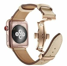 Womens Leather Strap for Apple Watch