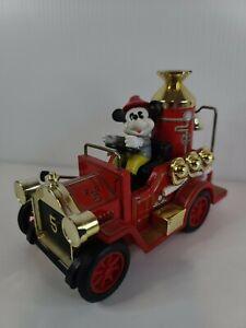 MASUDAYA Antique rare toy Mickey Mouse Tin Car Limited Disney vehicle Minicar
