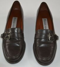 Etienne Aigner Women Brown Leather Loafers Size 5M / EU 35.5