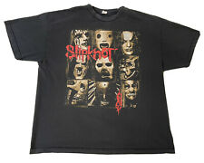 Slipknot Alstyle Apparel Band Rare Metal Music Double Sided T-Shirt Sz 2XL