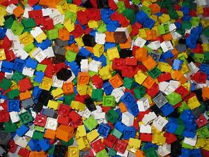 LEGO Bricks  2x2 pin x 100 pcs -   Mixed Colours