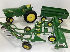 Vintage 1960's John Deere Tracter 3020, Wagon, Planter Lot Of 4