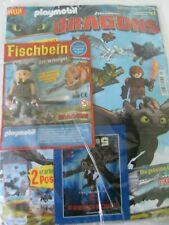 Playmobil Dragons Fischbein der Wikinger mit Schwert und Fisch Limitiert Neuware