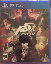 Sealed Persona 5 (Sony PlayStation 4, 2017)Fast Free Shipping PS4 Pro