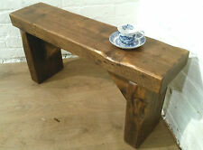 CHURCH BEAM Solid Rustic Wood Reclaimed Pine Dining Table Chair Vintage Bench