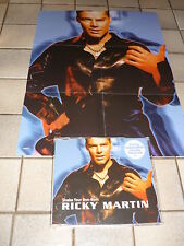 *RICKY MARTIN CD MAXI LIMITED EDITION POSTER SHAKE YOUR BON-BON