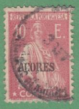 Azores Portuguese Colony #237i used 10E Ceres pink 1925 cv $27.50