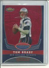 2008 Topps Finest Tom Brady TB6 166/629