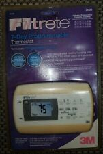 Filtrete 7-day Programmable Thermostat New in Package 3M22 $36 Retail
