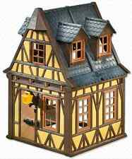 """Playmobil 7379 Vintage Yellow Framework House  - NEW Mint in sealed bag """"Steck"""""""