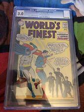 Worlds Finest 148 CGC 3.0 DC Comics 1965 Batman Superman