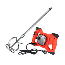 Industrial Electric Cement Paint Putty Powder Coating Mixer 6 Speed Adjustable