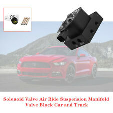 Universal Solenoid Valve Air Ride Suspension Manifold Valve Block Car And Truck