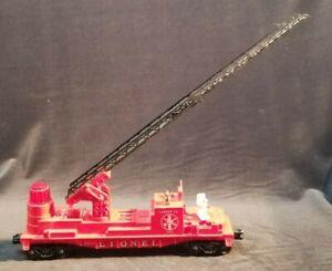 Postwar Lionel  3512 Fire & Ladder Co. Fire Fighting Car Nice - Untested