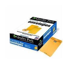 Quality Park Clasp Envelopes, 6.5 x 9.5 - Inch, Brown Kraft, Box of 100 (378.