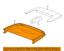 Chevrolet GM OEM Camaro Stowage-Convertible/soft Top-Storage Compart 23124571