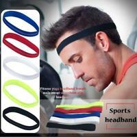 Sport Stirnband Männer Frauen Kopf Schweißband Sport Kopftuch Elastic HairBand