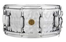 Gretsch USA Hammered Brass Snare Drum 6.5X14 - Video Demo
