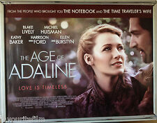 Cinema Poster: AGE OF ADALINE, THE 2015 (Main Quad) Blake Lively Harrison Ford