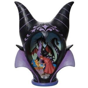 Jim Shore Disney Traditions MALEFICENT HEADDRESS SCENE Figurine 6008996 NEW 2021