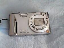 Panasonic Lumix Dmc-Zs10 Digital Camera 16x Full Hd -Silver. For Parts, Untested