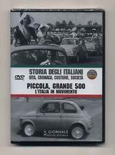 Dvd STORIA DEGLI ITALIANI 15 Piccola grande 500 L'Italia in movimento IST. LUCE