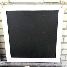 Rustikale Wandtafel 44x44cm Kreidetafel Weiß Shabby Dekotafel Holztafel  Tafel