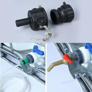 """HOSE TAIL COUPLING FITTING MALE PLASTIC TOOL 2"""" MALE COUPLING FITTING New"""