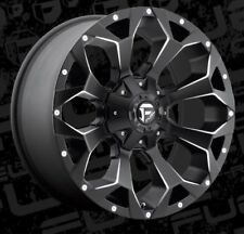 Fuel Assault D546 20x9 8x180 ET20 Black Rims (Set of 4)