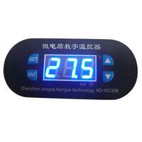 LED Digital Thermostat Heat Cool Controller Temperature Alarm Sensor Meter 12V
