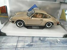 PORSCHE 911 G-Modell Carrera 3.2 Coupe braun bronze 1984 Solido NEU 1:18
