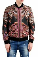 Versace Collection Men's Reversible Full Zip Windbreaker Jacket Size S M L XL