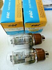 KT66 GEC Matching  Pair  7704 & 7701  New Old Stock  Valve Tube JU17