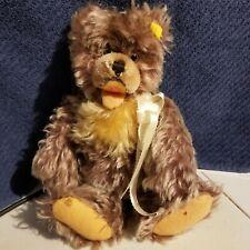 Steiff 1960's Zotty Bear 11 inches 6328-02