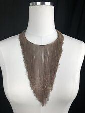 $3095 New Brunello Cucinelli Womens Necklace Copper Monili Beads Sterling 925