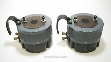 """Pair of Vintage RCA MI-9584-A / 1.4"""" Horn Drivers - Speakers / 15 Ohm -- KT"""