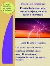 DOS En Uno Relampago Espanol Latinoamericano Para Extranjeros En Nivel Basico E