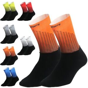 Compression Socks Cycling Knee Soft Accessories Ankle Breathable Climbing