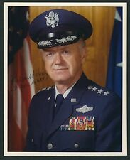 "General Richard Henry signed 8""x10"" photograph USAF Space Division"