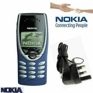 Classic NOKIA 8210 BLUESIM FREE UNLOCKED 12MONTHS WARRANTY UK SELLER