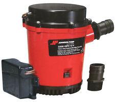 Johnson Pump, Ultima Combo Automatic Submersible Bilge Pump 2200 GPH - 02274-001