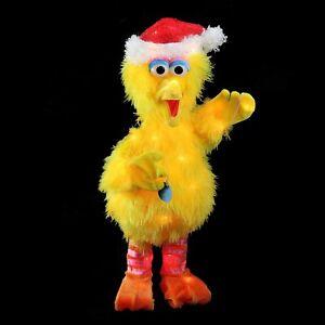 2FT CHRISTMAS TINSEL LIGHTED BIG BIRD LIGHTED YARD DECOR & 4 FREE LIGHTED STAKES