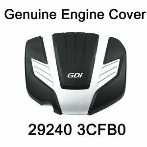Genuine Oem Engine Cover 292403CFB For Hyundai Santa Fe Kia Sorento 2013-2018
