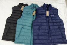$179 NWT Patagonia M's Down Sweater Vest All Colors Sz S M L XL